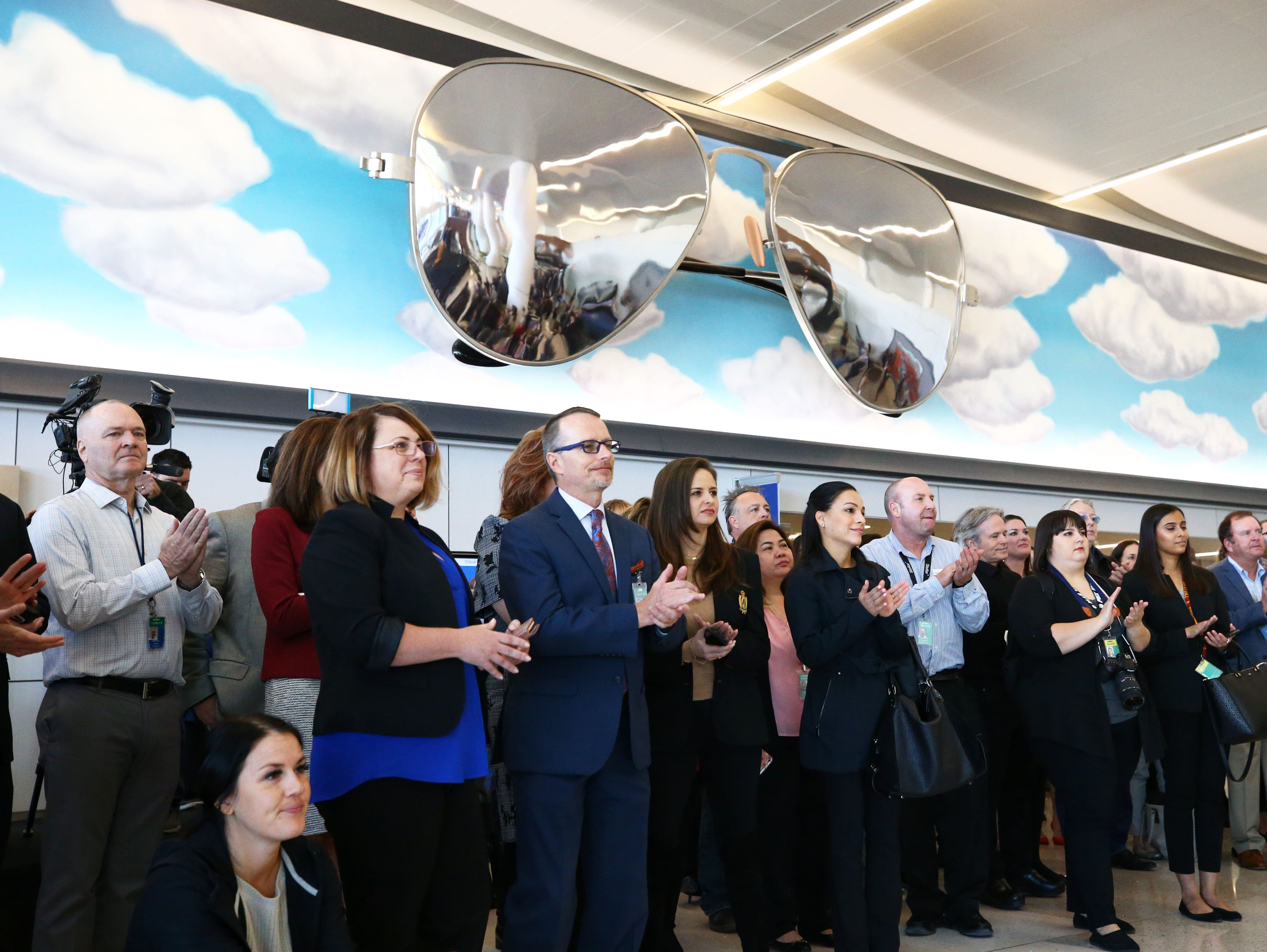 Opening ceremonies of the John S. McCain III Terminal 3, South Concourse on Monday, Jan. 7, 2019 at Phoenix Sky Harbor International Airport.