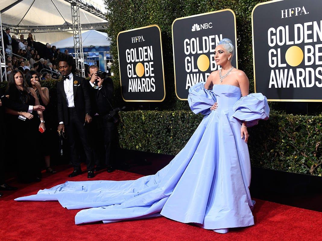 Lady Gaga asiste a la 76ª entrega anual de los Globos de Oro en el Beverly Hilton Hotel el 6 de enero de 2019 en Beverly Hills, California.
