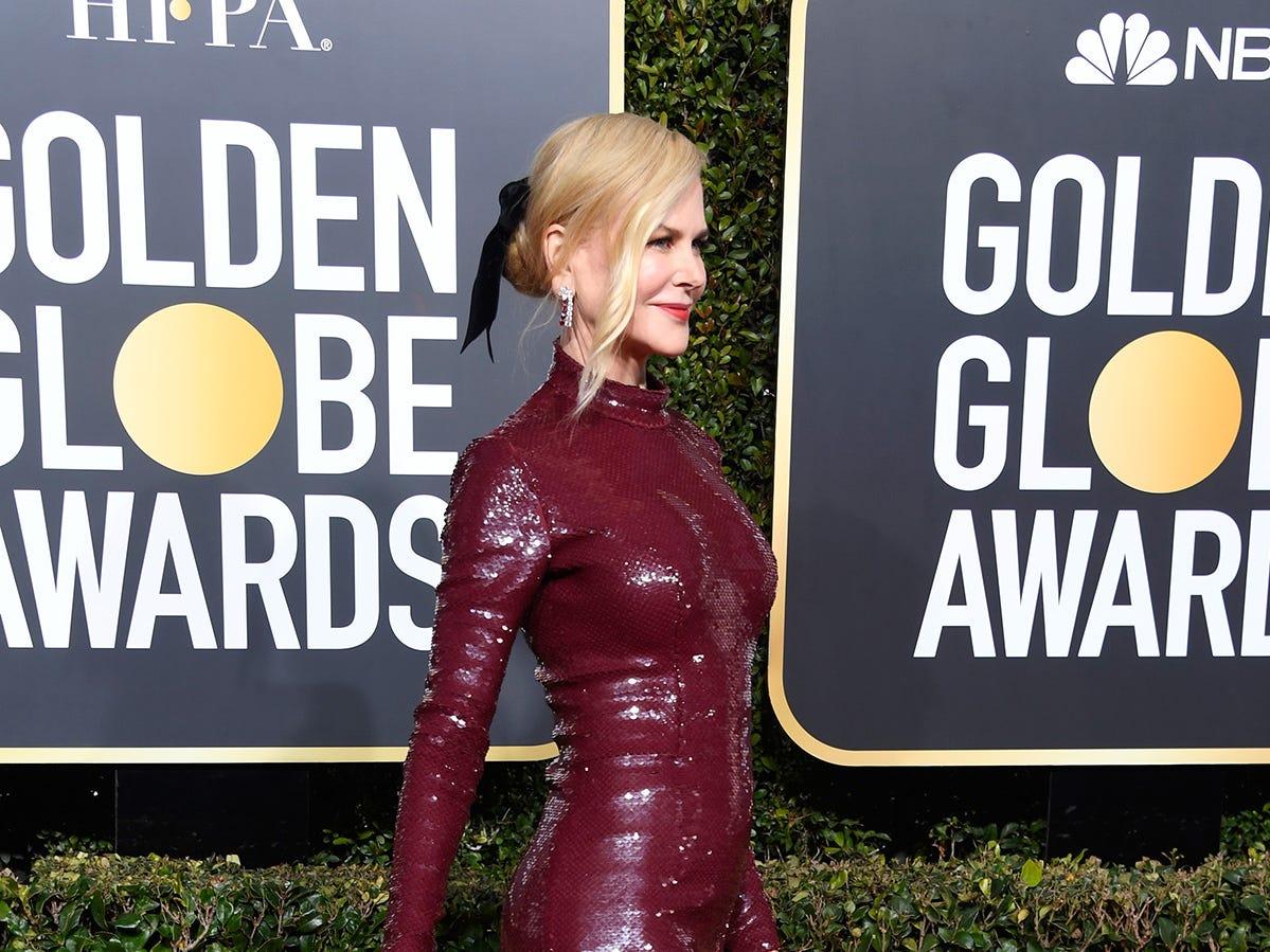 Nicole Kidman asiste a la 76ª entrega anual de los Globos de Oro en el Beverly Hilton Hotel el 6 de enero de 2019 en Beverly Hills, California.