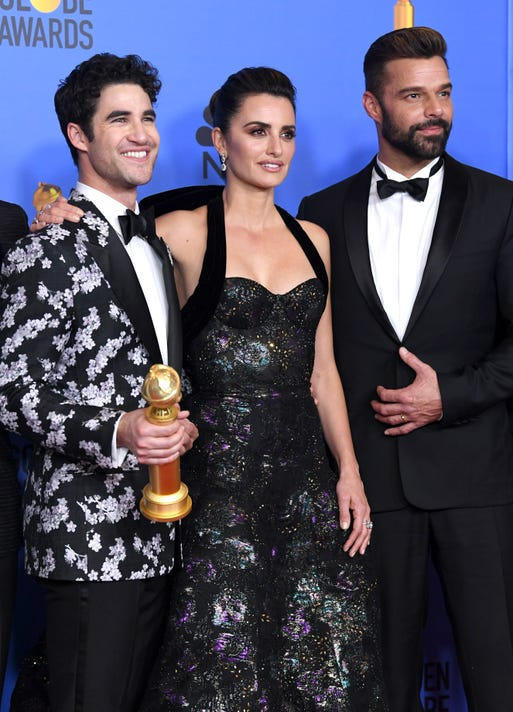 76th Annual Golden Globe Awards Press Room