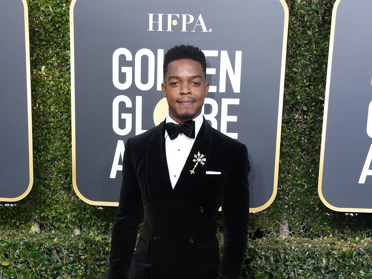 Stephan James asiste a la 76ª entrega anual de los Globos de Oro en el Beverly Hilton Hotel el 6 de enero de 2019 en Beverly Hills, California.