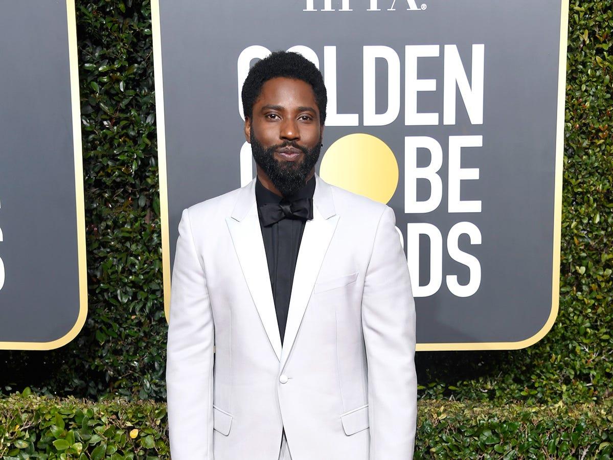 John David Washington asiste a la 76ª entrega anual de los Globos de Oro en el Beverly Hilton Hotel el 6 de enero de 2019 en Beverly Hills, California.
