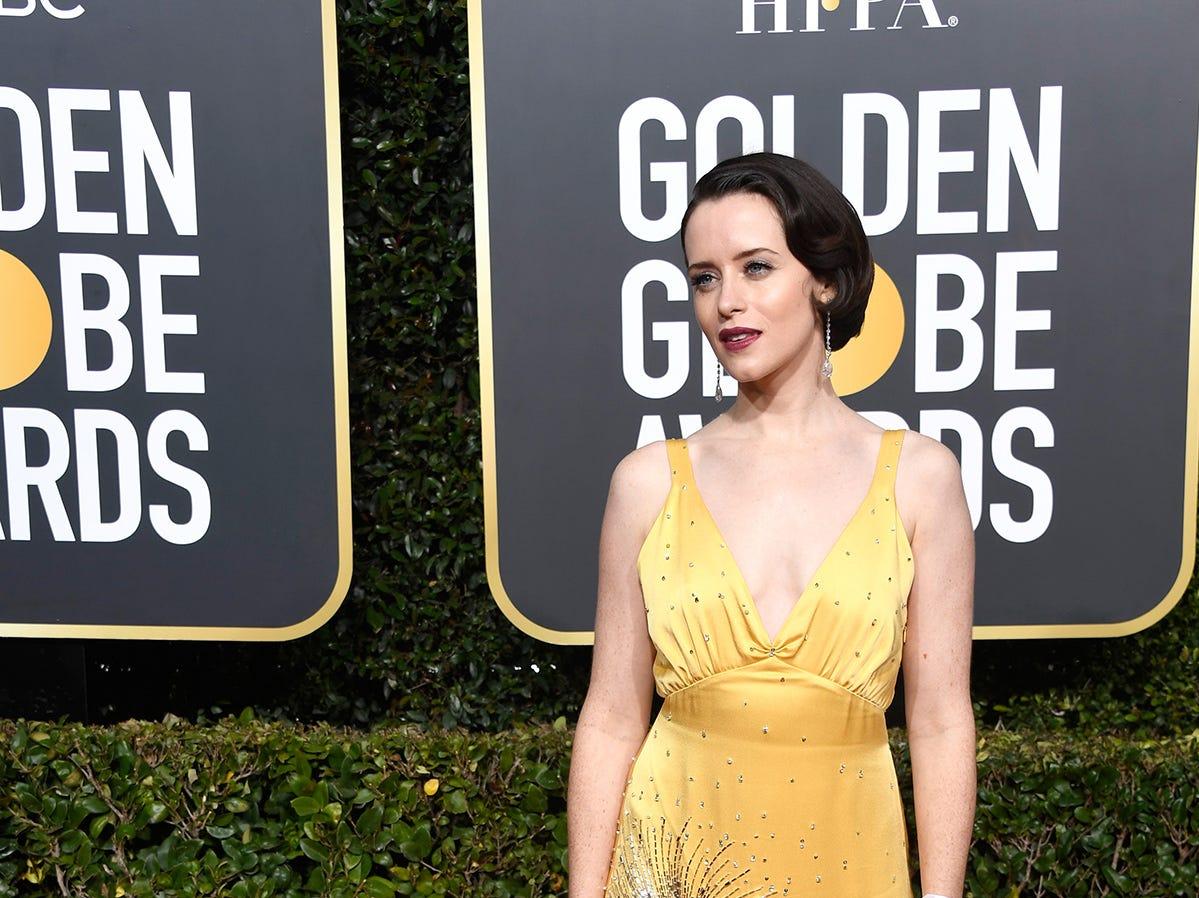 Claire Foy asiste a la 76ª entrega anual de los Globos de Oro en el Beverly Hilton Hotel el 6 de enero de 2019 en Beverly Hills, California.