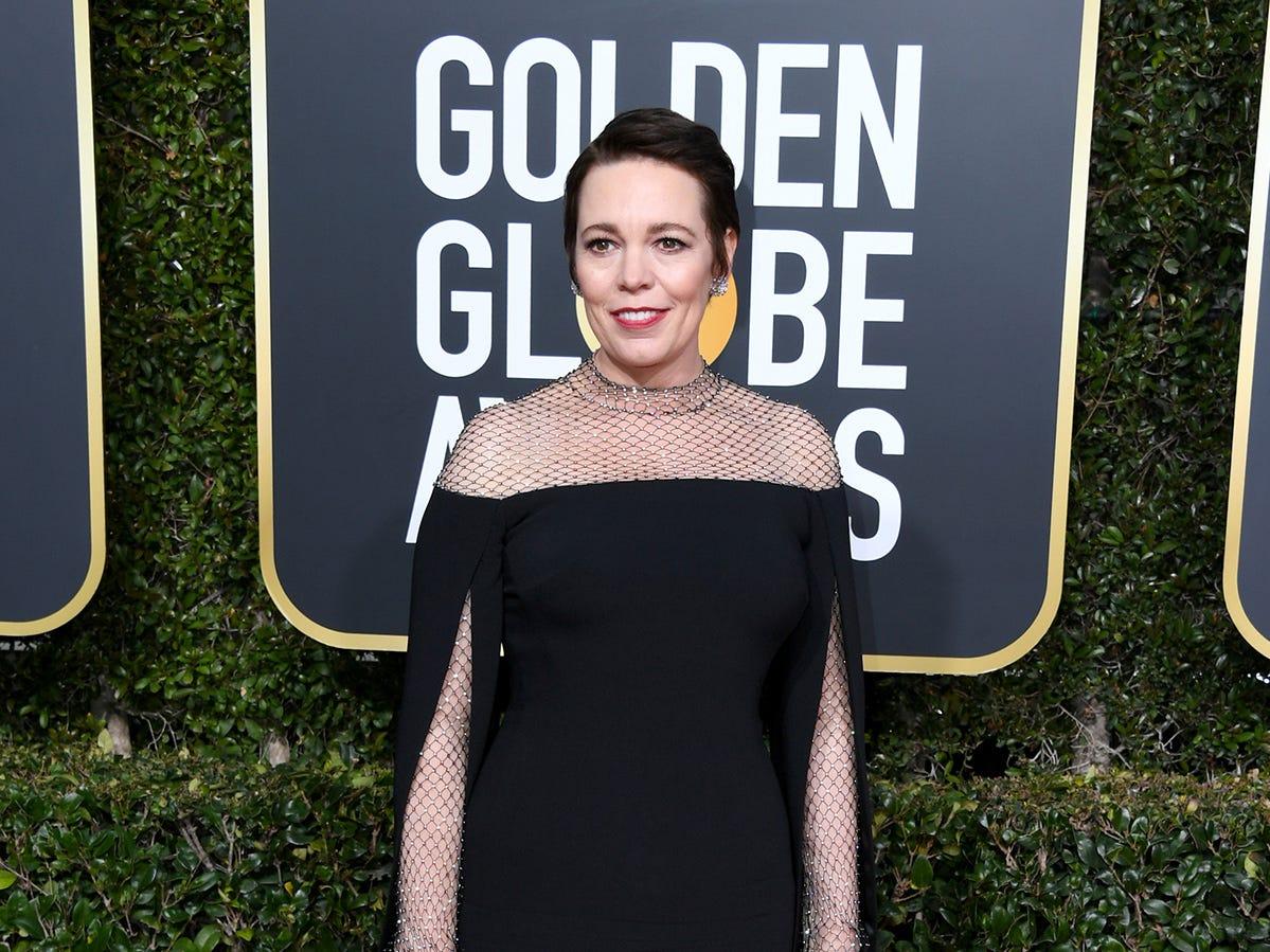 Olivia Colman asiste a la 76ª entrega anual de los Globos de Oro en el Beverly Hilton Hotel el 6 de enero de 2019 en Beverly Hills, California.