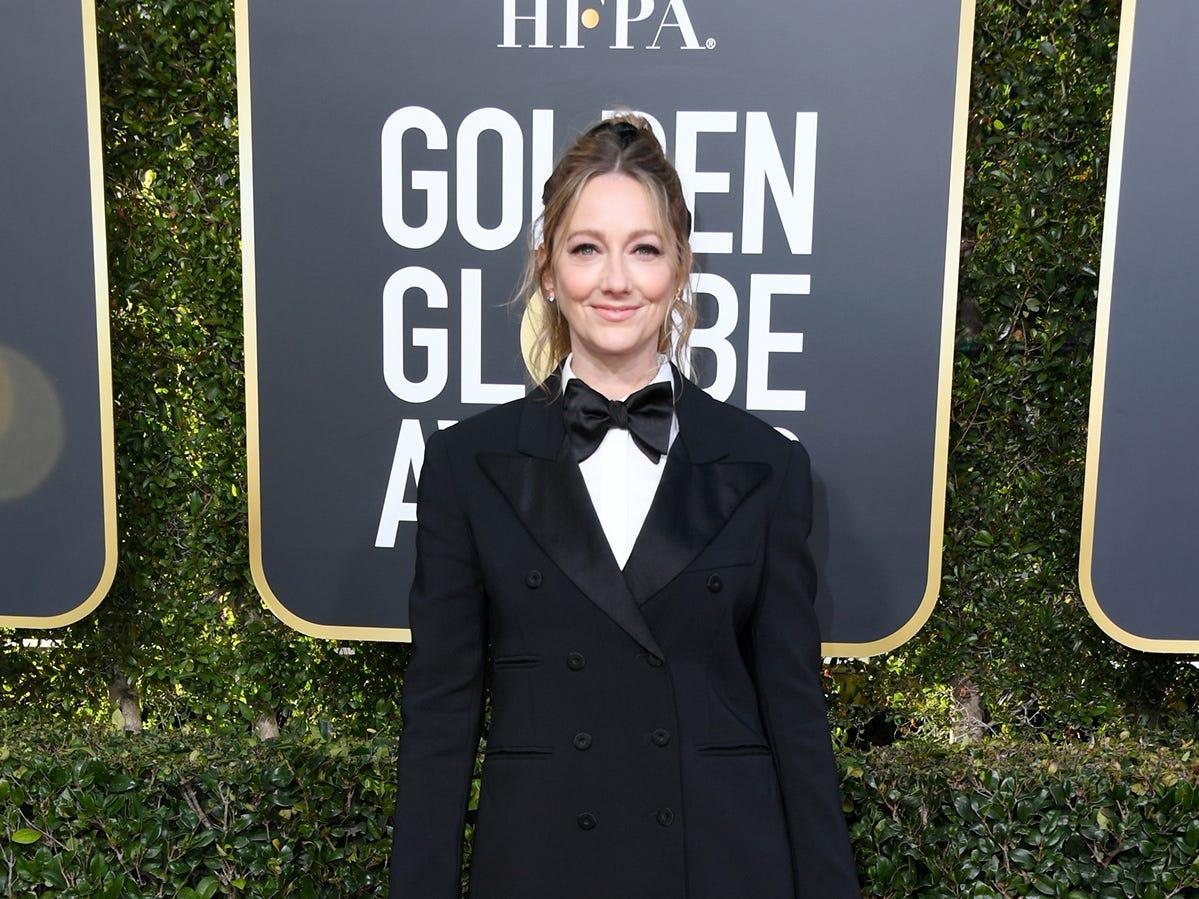 Judy Greer asiste a la 76ª entrega anual de los Globos de Oro en el Beverly Hilton Hotel el 6 de enero de 2019 en Beverly Hills, California.