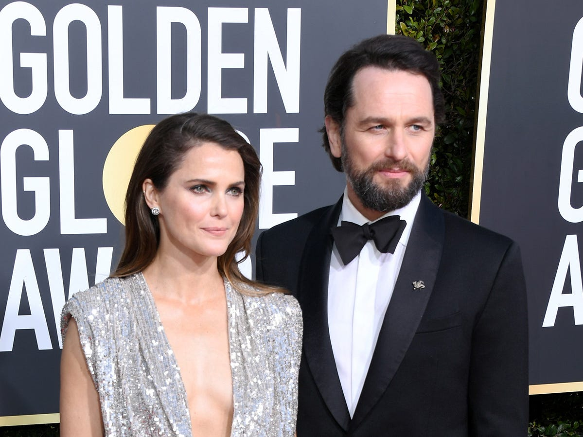 Keri Russell y Matthew Rhys asisten a la 76ª entrega anual de los Globos de Oro en el Beverly Hilton Hotel el 6 de enero de 2019 en Beverly Hills, California.