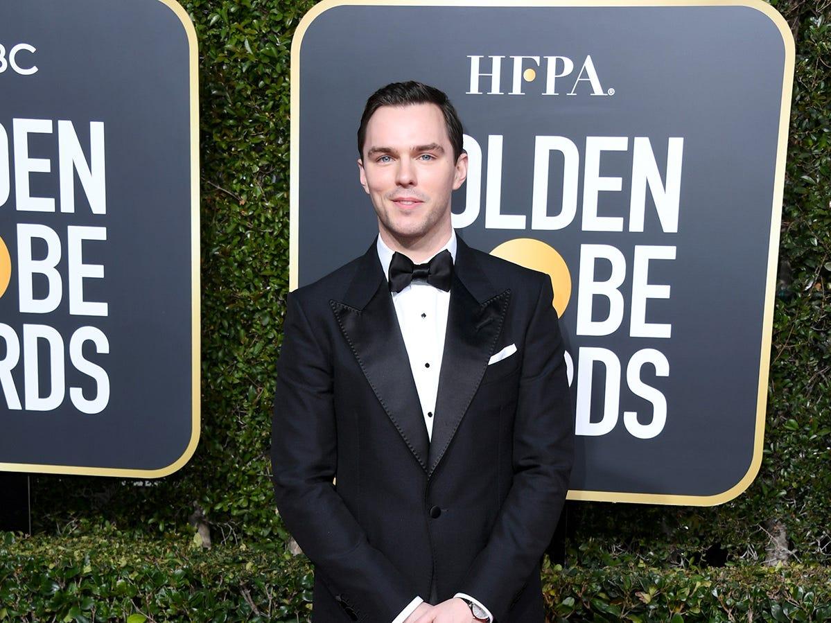 Nicholas Hoult asiste a la 76ª entrega anual de los Globos de Oro en el Beverly Hilton Hotel el 6 de enero de 2019 en Beverly Hills, California.