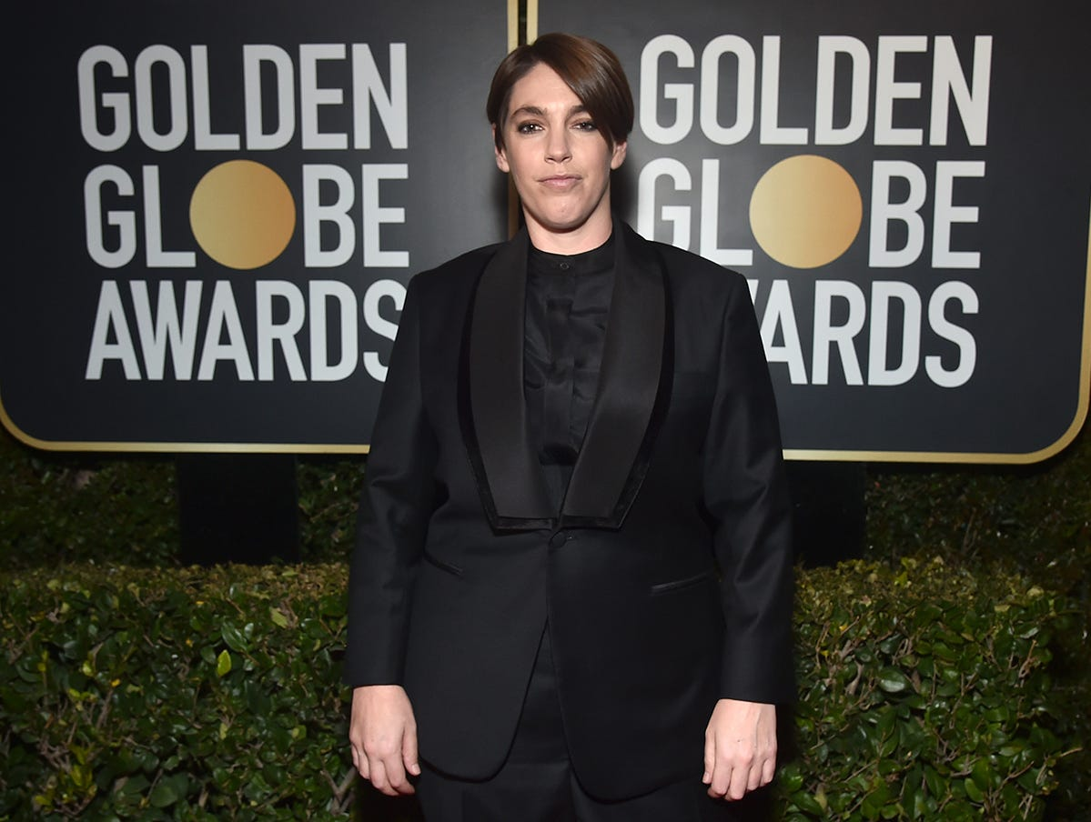 La productora Megan Ellison asiste a la 76ª entrega anual de los Globos de Oro en el Beverly Hilton Hotel el 6 de enero de 2019 en Beverly Hills, California.