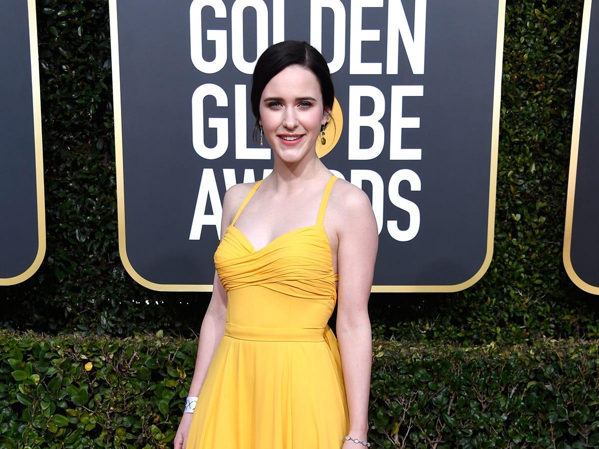 Rachel Brosnahan asiste a la 76ª entrega anual de los Globos de Oro en el Beverly Hilton Hotel el 6 de enero de 2019 en Beverly Hills, California.