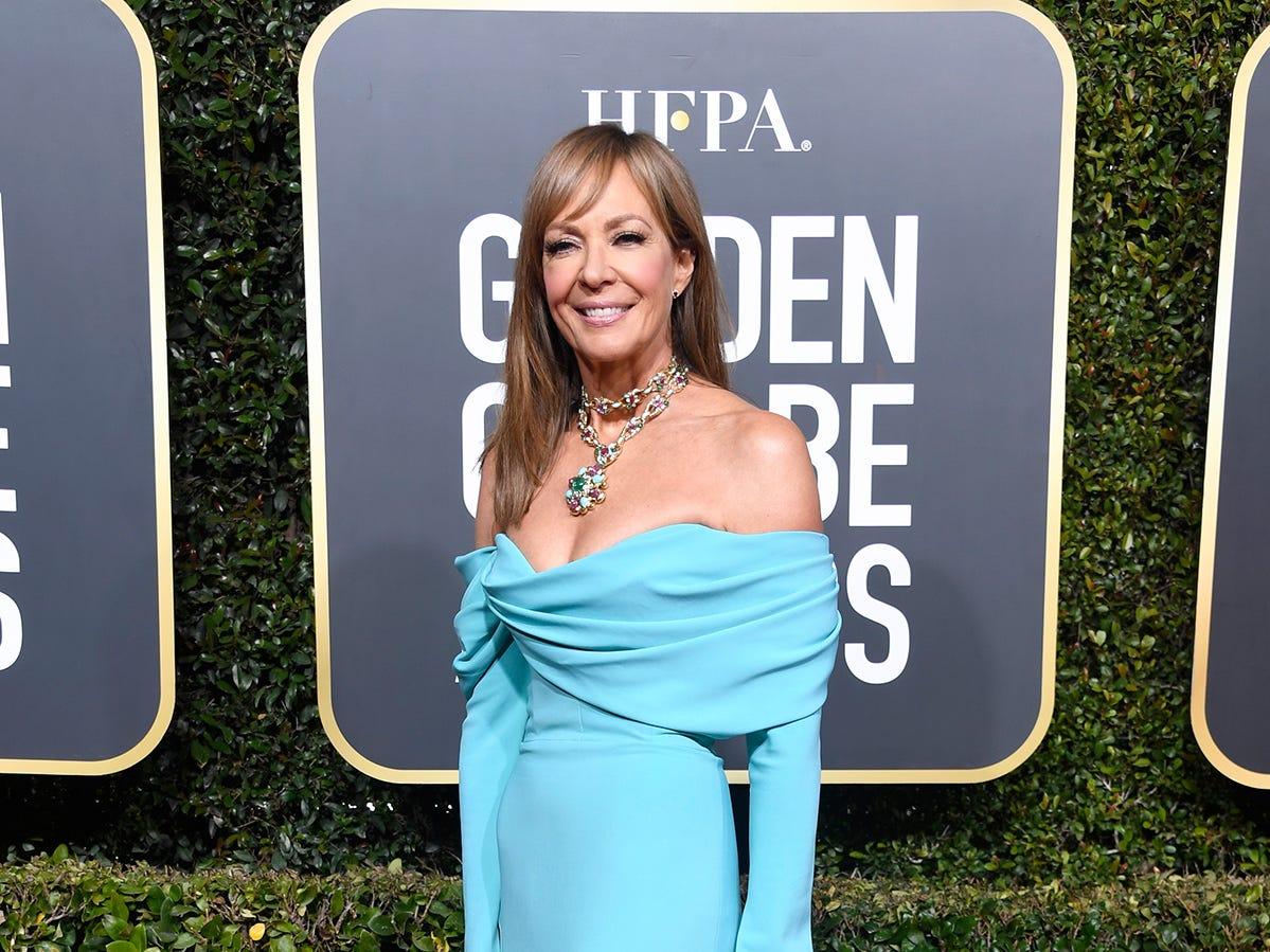 Allison Janney asiste a la 76ª entrega anual de los Globos de Oro en el Beverly Hilton Hotel el 6 de enero de 2019 en Beverly Hills, California.