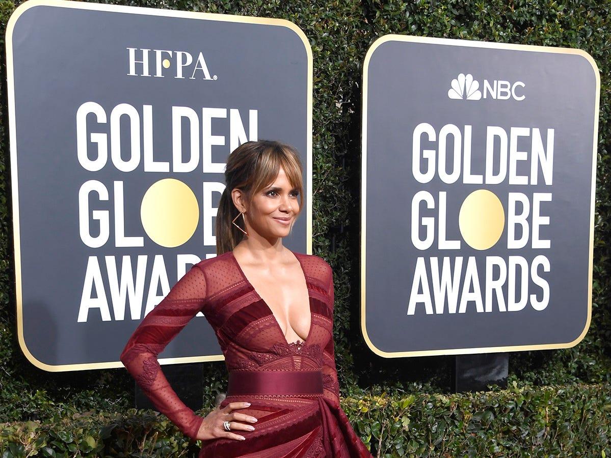 Halle Berry asiste a la 76ª entrega anual de los Globos de Oro en el Beverly Hilton Hotel el 6 de enero de 2019 en Beverly Hills, California.