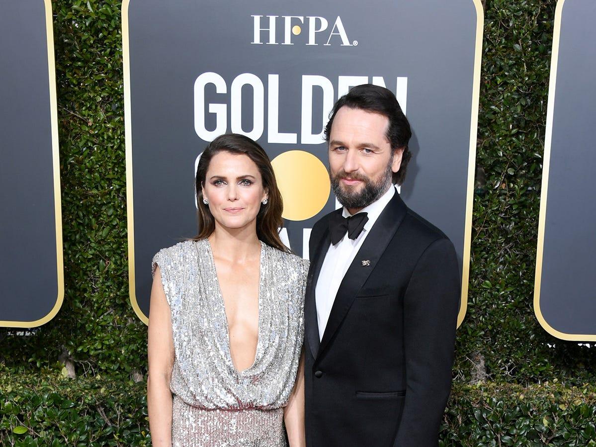 Keri Russell y Matthew Rhys asiste a la 76ª entrega anual de los Globos de Oro en el Beverly Hilton Hotel el 6 de enero de 2019 en Beverly Hills, California.