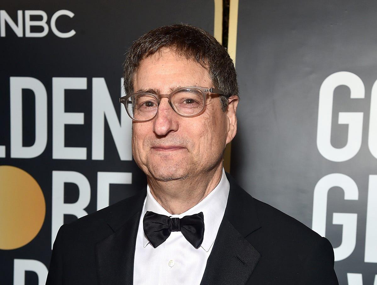 Tom Rothman, gerente de Sony Pictures Motion Picture Group, asiste a la 76ª entrega anual de los Globos de Oro en el Beverly Hilton Hotel el 6 de enero de 2019 en Beverly Hills, California.