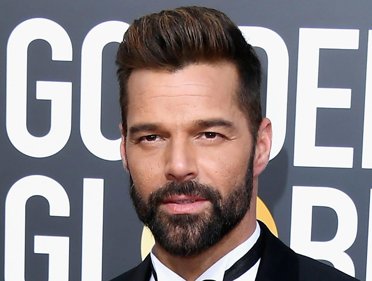 Ricky Martin asiste a la 76ª entrega anual de los Globos de Oro en el Beverly Hilton Hotel el 6 de enero de 2019 en Beverly Hills, California.