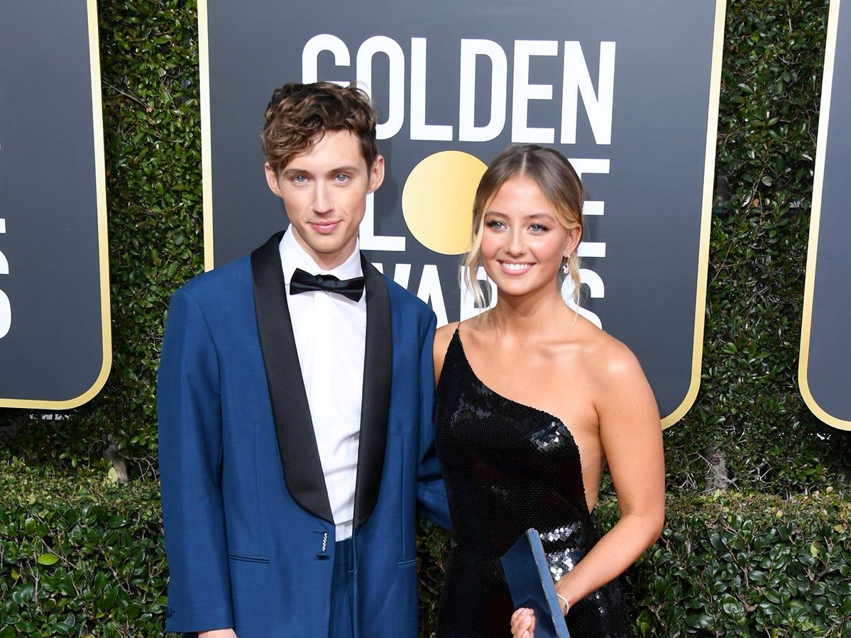 Troye Sivan asiste a la 76ª entrega anual de los Globos de Oro en el Beverly Hilton Hotel el 6 de enero de 2019 en Beverly Hills, California.