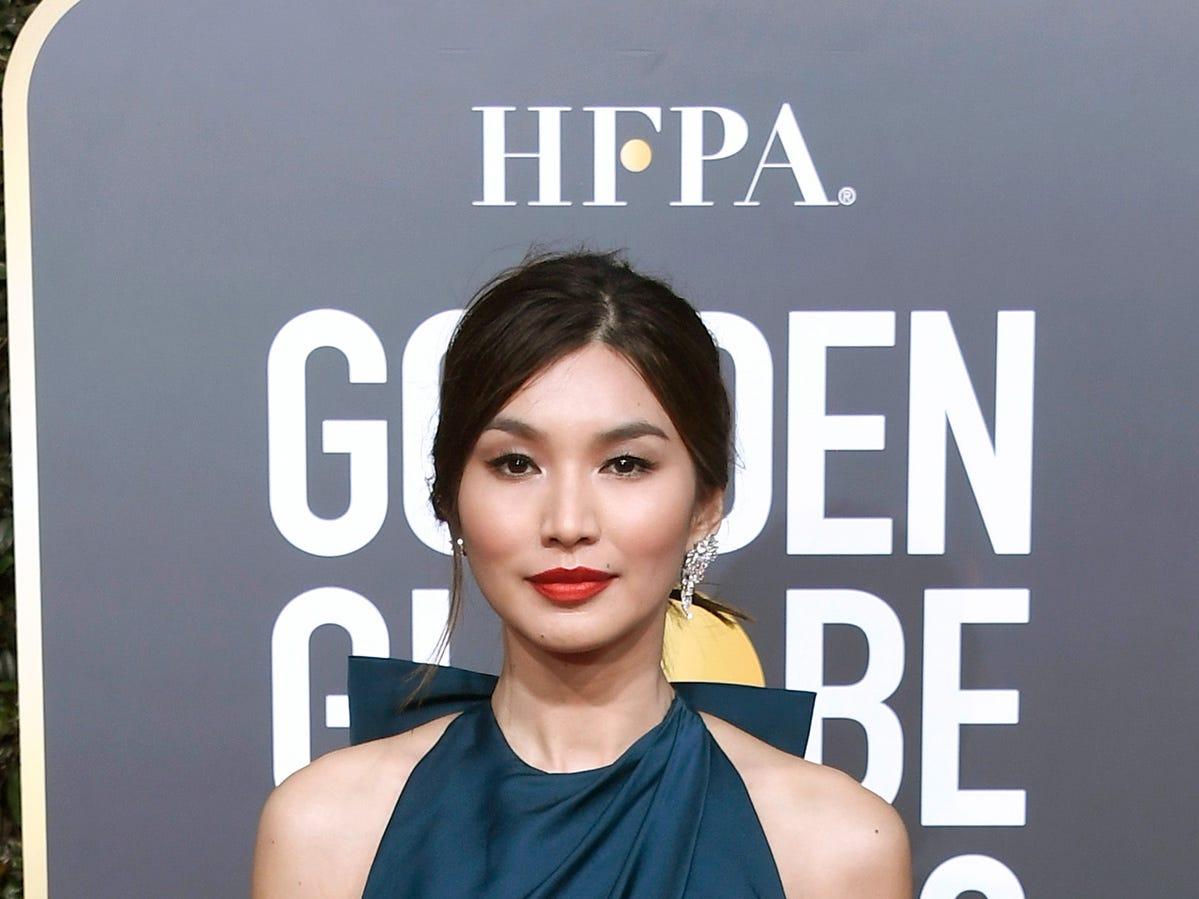 Gemma Chan asiste a la 76ª entrega anual de los Globos de Oro en el Beverly Hilton Hotel el 6 de enero de 2019 en Beverly Hills, California.