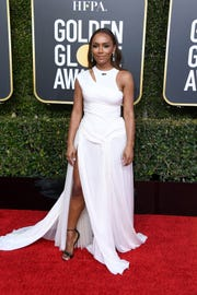 Janet Mock at the 76th annual Golden Globe Awards in January.