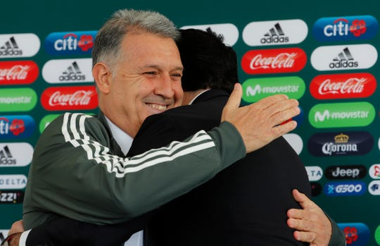 Gerardo 'Tata' Martino fue presentado como nuevo D.T. de la Selección Mexicana.