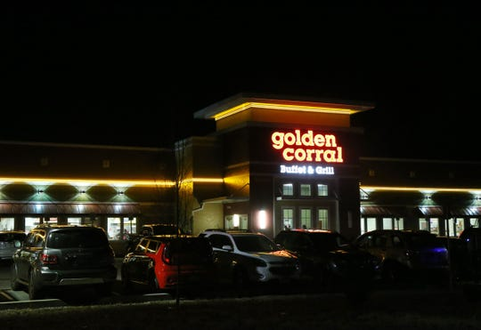 Golden Corral in the Town of Poughkeepsie on January 4, 2019.