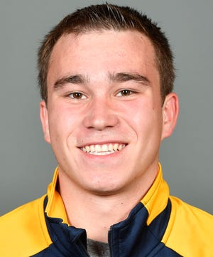 Nick Cover has made a quick impact for West Virginia diving.