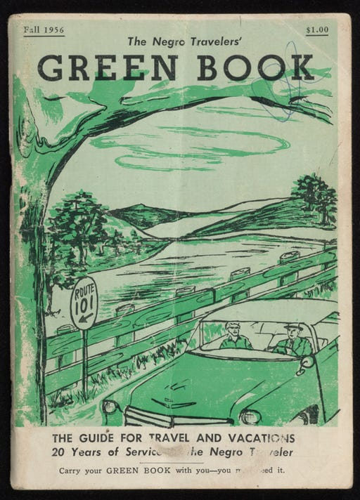 Green Book 1956 Edition