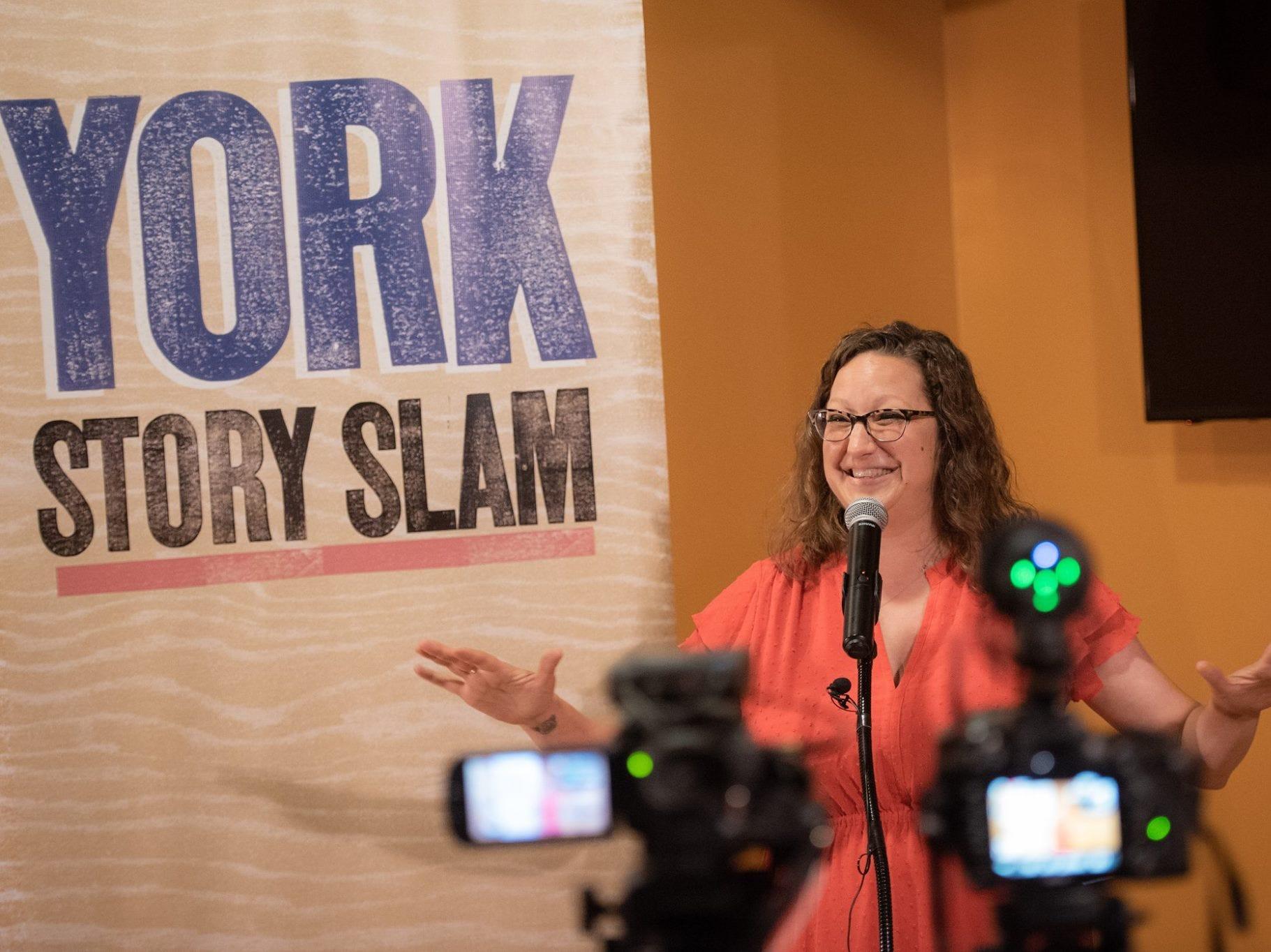 J.J. Sheffer at York Story Slam