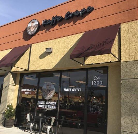 Kaffe Crepe Exterior