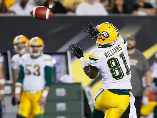 Cfl Edmonton Eskimos At Hamilton Tiger Cats