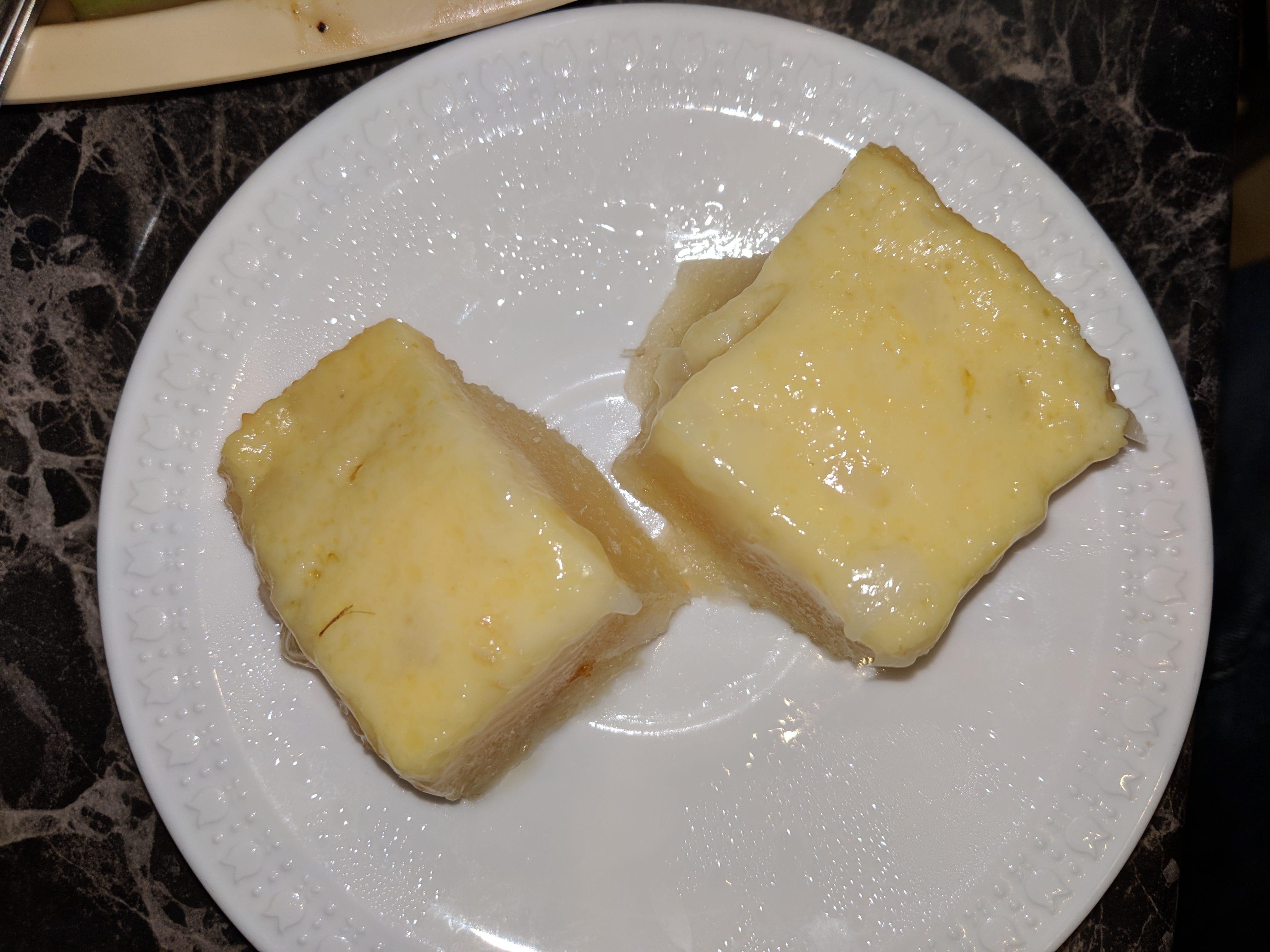 Cassava cake.