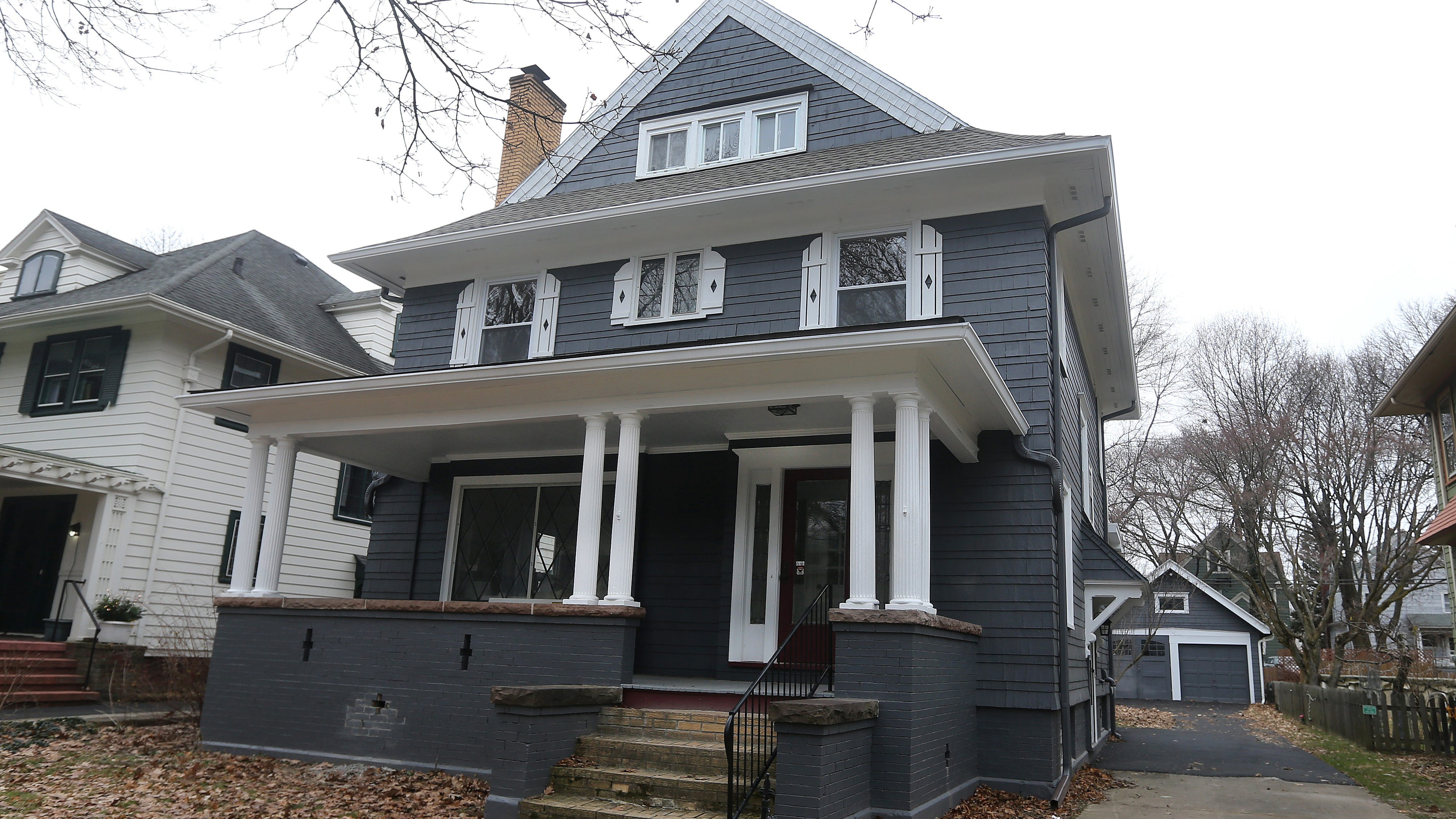 Davide and Sal Salafia buy,  renovate and sell houses throughout the community like this one on Crosman Terrace in Rochester.