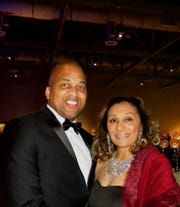Shreveport City Councilman Jerry Bowman and wife Ursula Bowman at Mayor's Gala.
