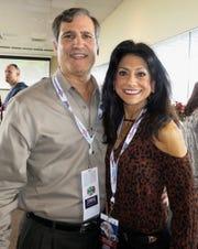 Barry and Teri Busada at Independence Bowl.