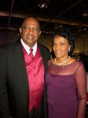 Shreveport City Councilman Willie Bradford and Mrs. Bradford at Mayor's Gala.