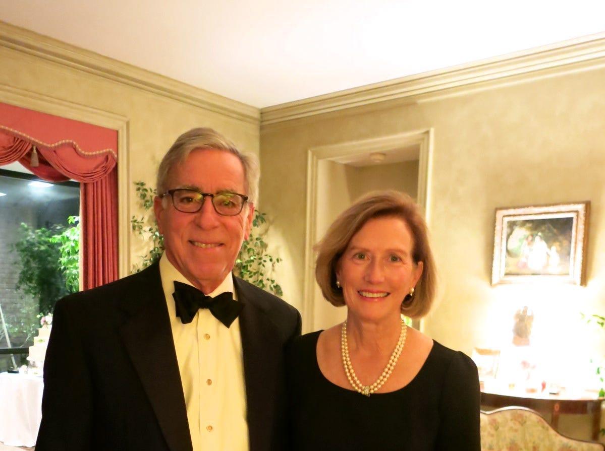 Delton Harrison Smith and Caroline Elizabeth Wiggins wedding reception was New Year's Eve at home of Delton Harrison.
