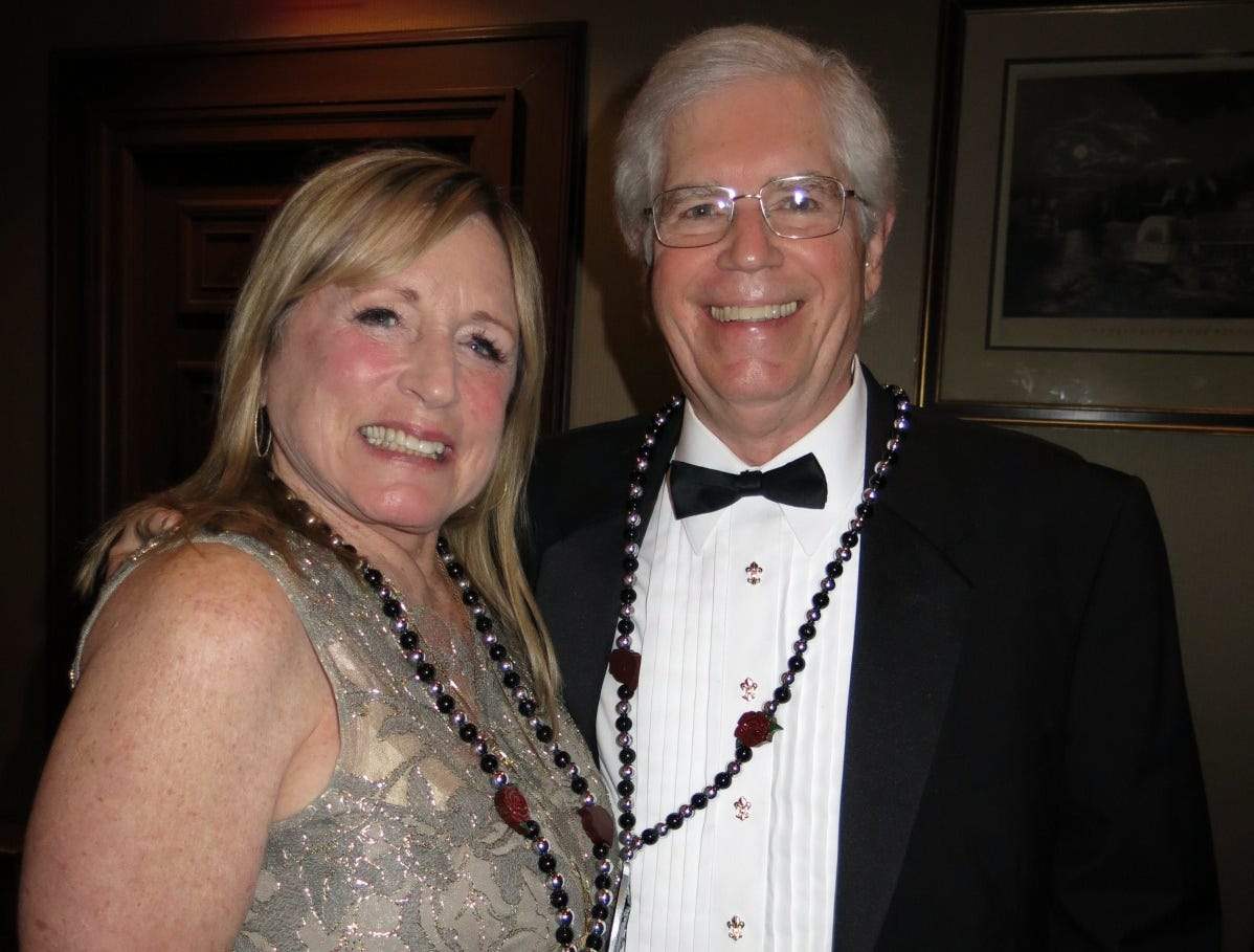 Krewe Justinian Royalty Banquet was Thursday at Shreveport Club.