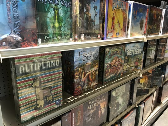 Game Chest in downtown Sioux Falls sells a variety of tabletop games and hosts game nights.
