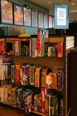 The Barnes & Noble bookstore in Sioux Falls now offers a tabletop game library in its Starbucks cafe.