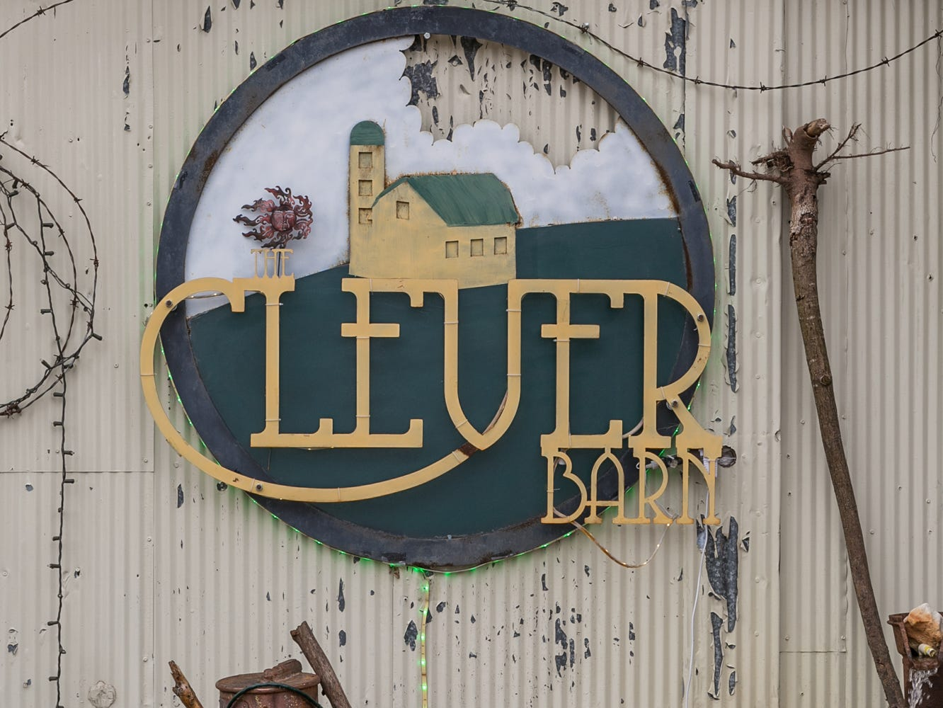 The Clever Barn, about a 30-minute drive from central Springfield, is the creation of Laura and Randy Walden.