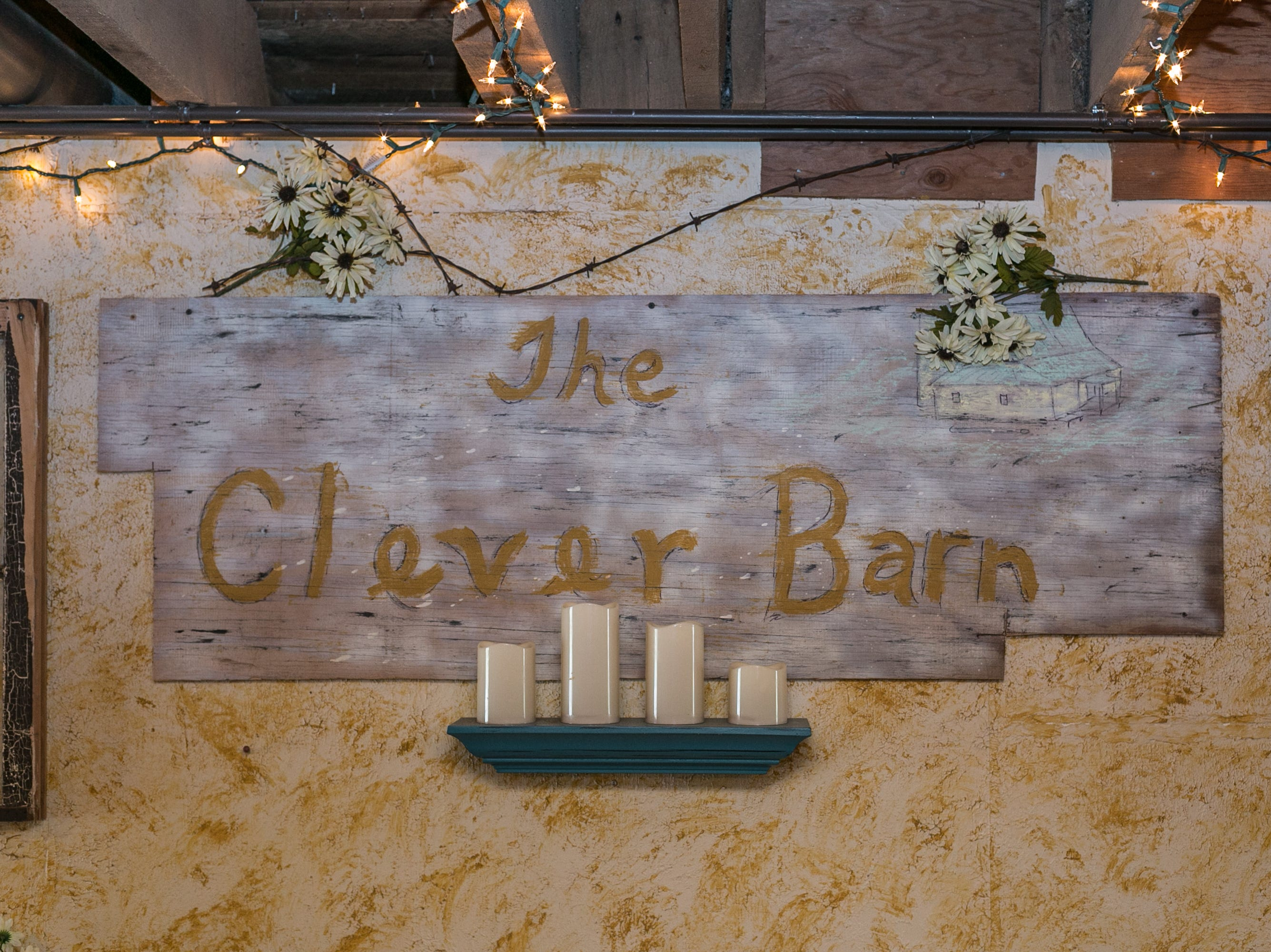 Laura and Randy Walden with the Clever Barn in Clever on January 4, 2019.