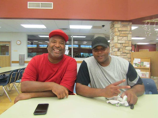 Darryle O'Conner and Eugene Johnson