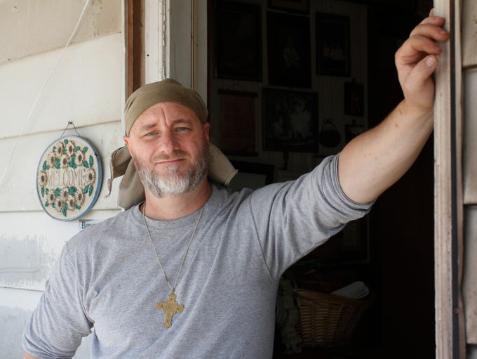 James Staples, father of Sarah and Heather Staples, at his home in Hickory County on March 16, 2011.