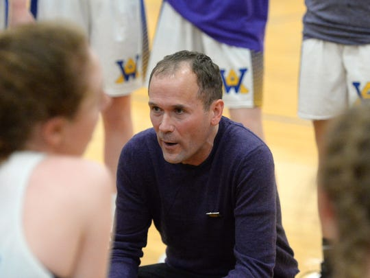 Kris Wright, the head coach of the Western Albemarle girls basketball team, organized the Play for Preemies Showcase after he and his wife had two premature births.