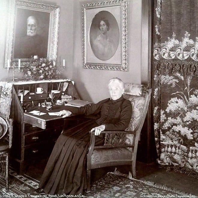 Jessie Benton Frémont at her home in Los Angeles.