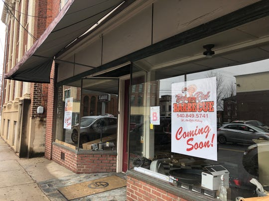Big Red Barbecue is expected to open in Staunton on Central Avenue in the former Staunton Florist location.