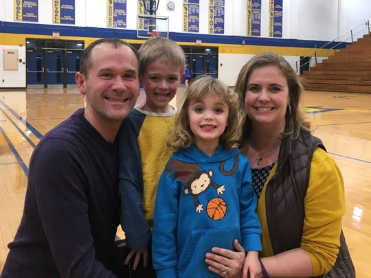 Kris and Heather Wright, started the Play for Preemies basketball event to raise research money for and awareness of  premature births. The Wright's children, Colin and Avery, were both born prematurely.