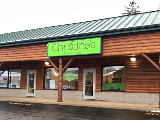 Christine's Cheesecakes is set to open in the Riverwood Mall at the end of the month.