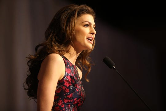 First Lady Casey DeSantis talks about life on the campaign trail at the Women for Florida Leadership Breakfast in January.