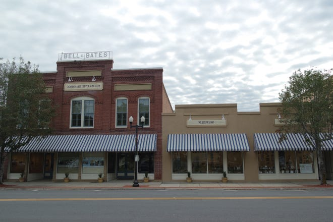 The Gadsden Arts Center & Museum in downtown Quincy.