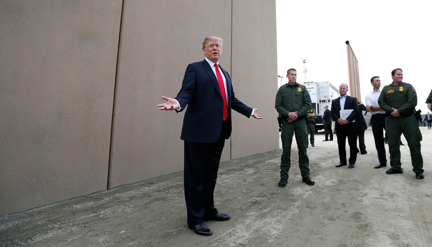Yes, Trump can declare an emergency and build a wall