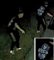 Port St. Lucie police are looking for men they said are responsible for car burglaries reported last week.